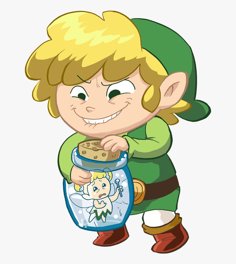 Zelda Fairy Bottle, Cliparts & Cartoons.