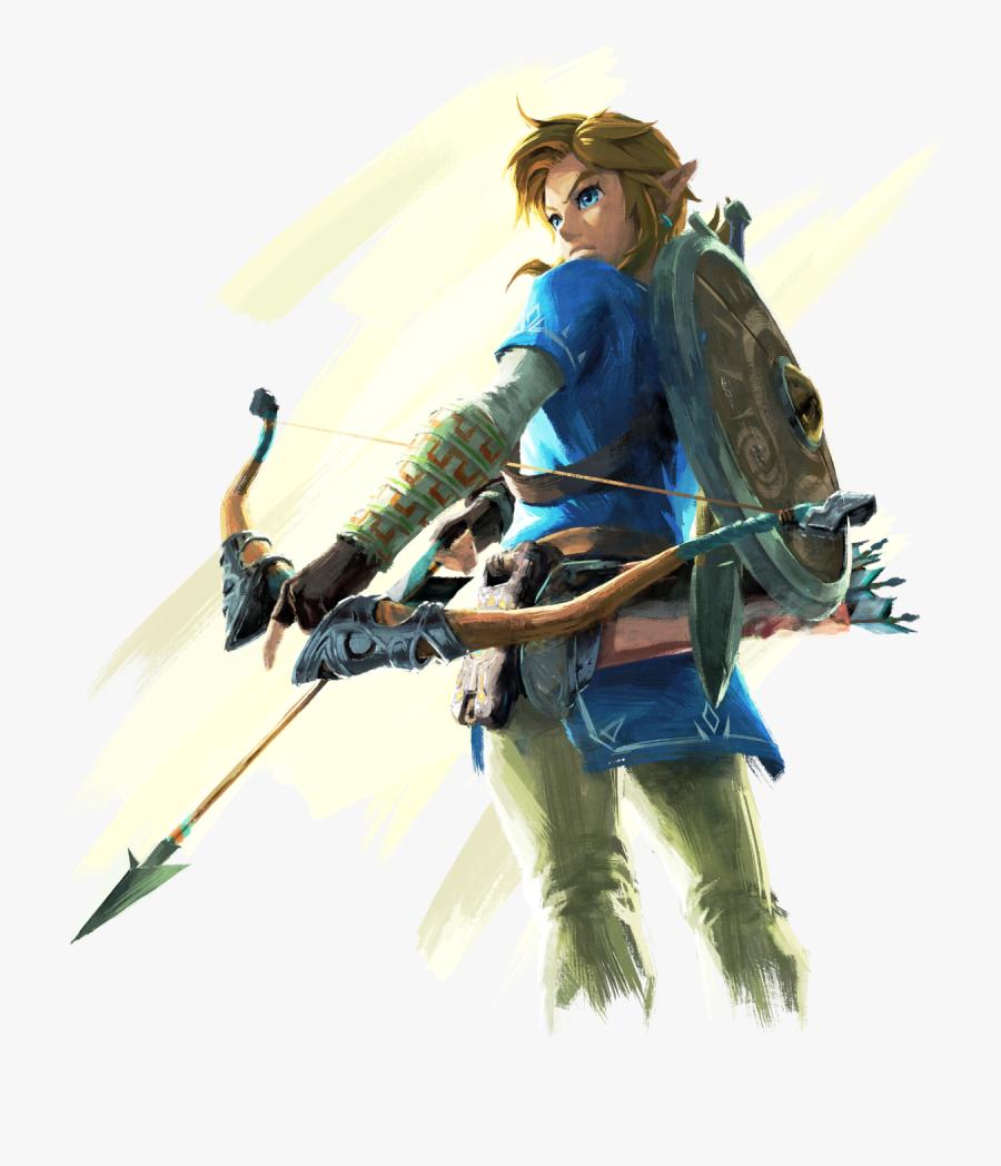 Transparent Link Bow Arrow.