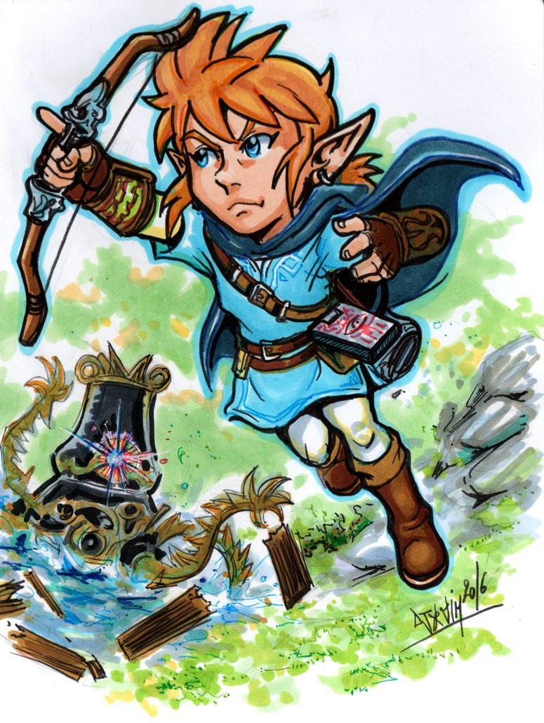 Breath Of The Wild Clipart.