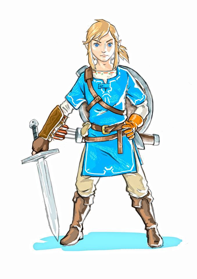 Nintendo Shares Two New Pieces Of Concept Art For Zelda: Breath Of.