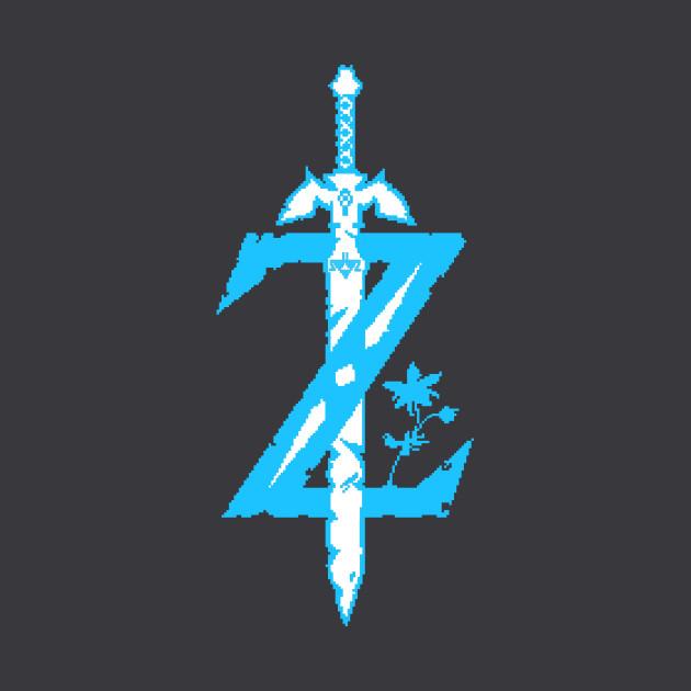Zelda Breath of the Wild Z Logo.
