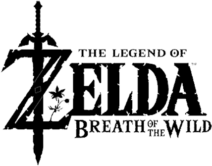 HD Legend Of Zelda Breath Of The Wild Logo Transparent Transparent.