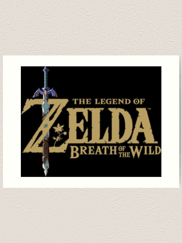 The Legend of Zelda: Breath of the Wild Logo.