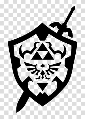 Gray and blue shield, The Legend of Zelda: Twilight Princess.
