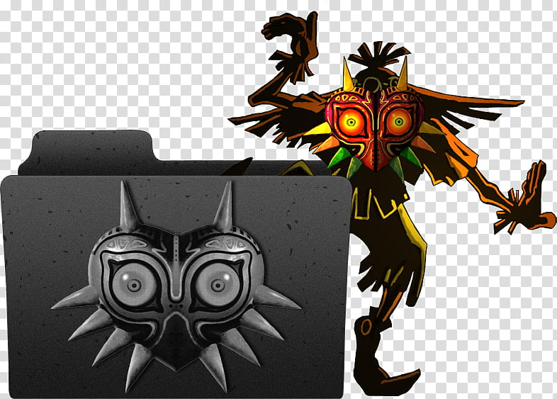 Zelda Majoras Mask Folder , The Legend of Zelda Majora.