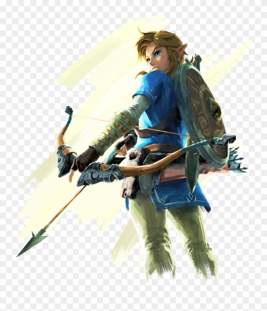 Legend Of Zelda Breath Of The Wild Logo Png Clipart.