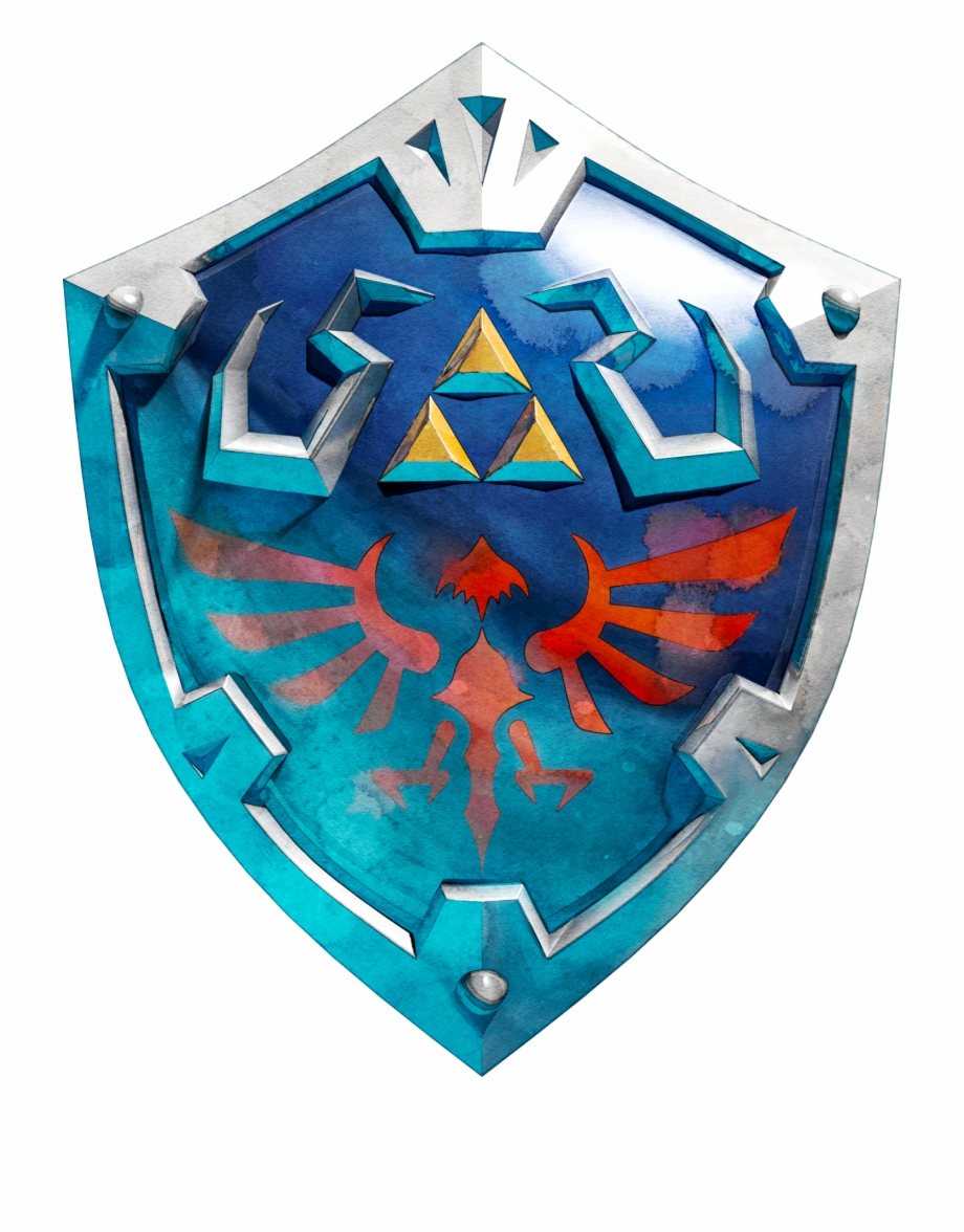 Hylian Shield Hyrule Shield And Sword.