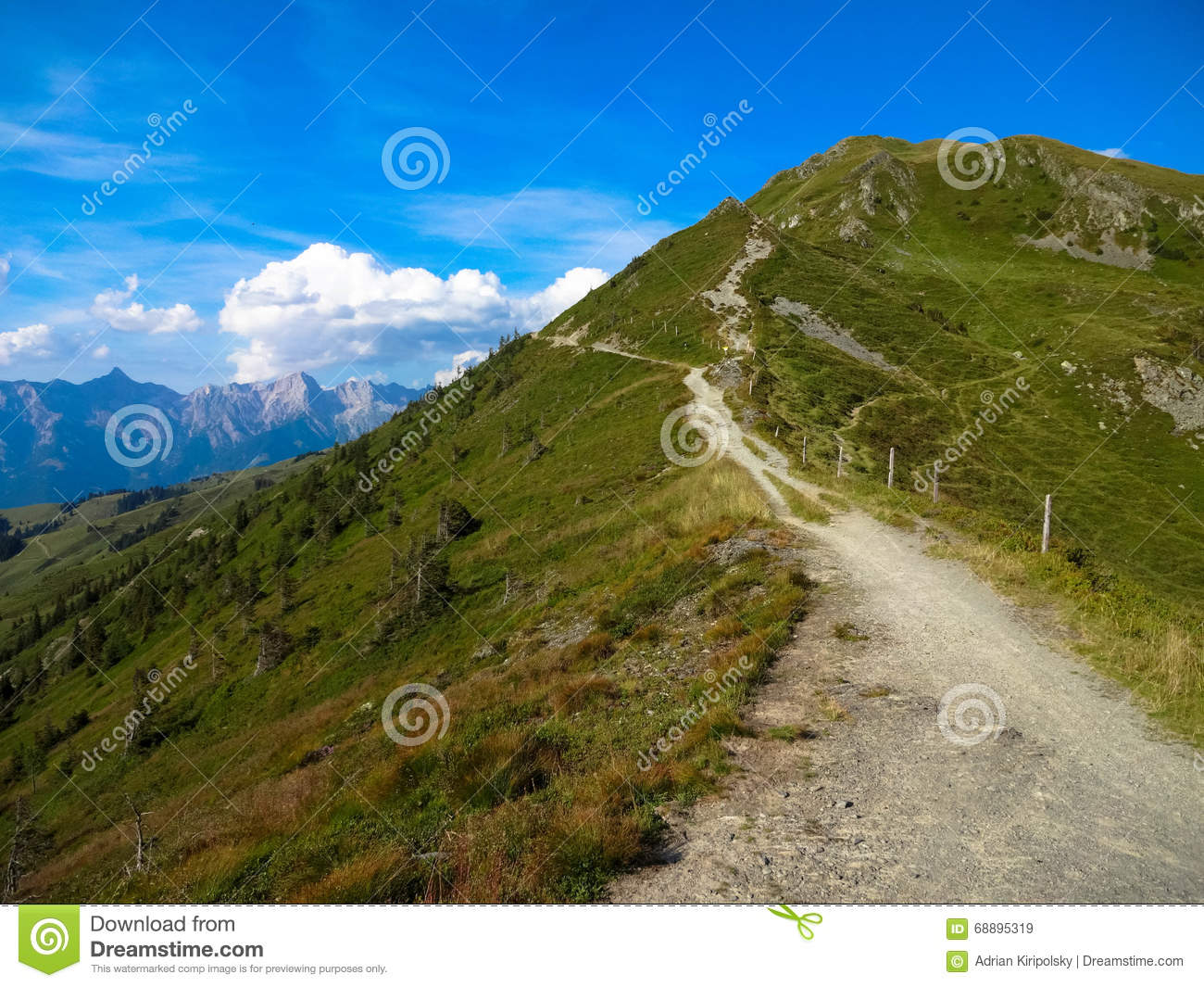 Hundstein, Zell Am See, Stock Photo.