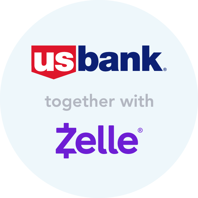 Zelle for eligible business accounts.