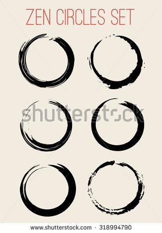 Zen Circle Stock Photos, Royalty.