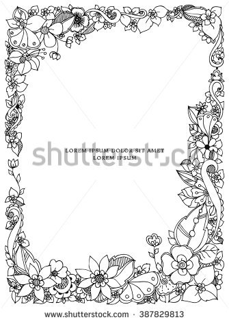 Adult Coloring Books Stock Images, Royalty.