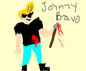 Epic guy wielding a spear.