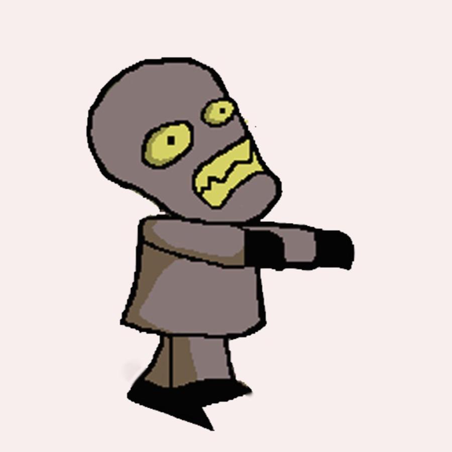 Robot Zombies Zero.