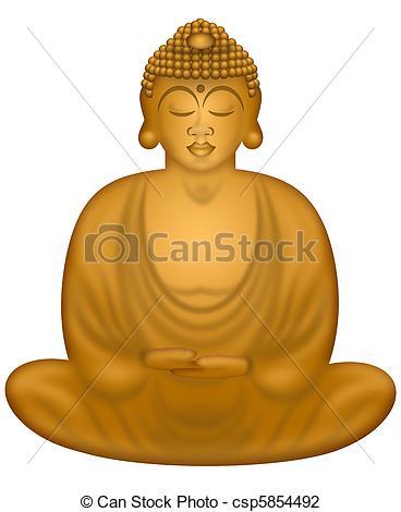 Clip Art Zen Buddha Clipart.