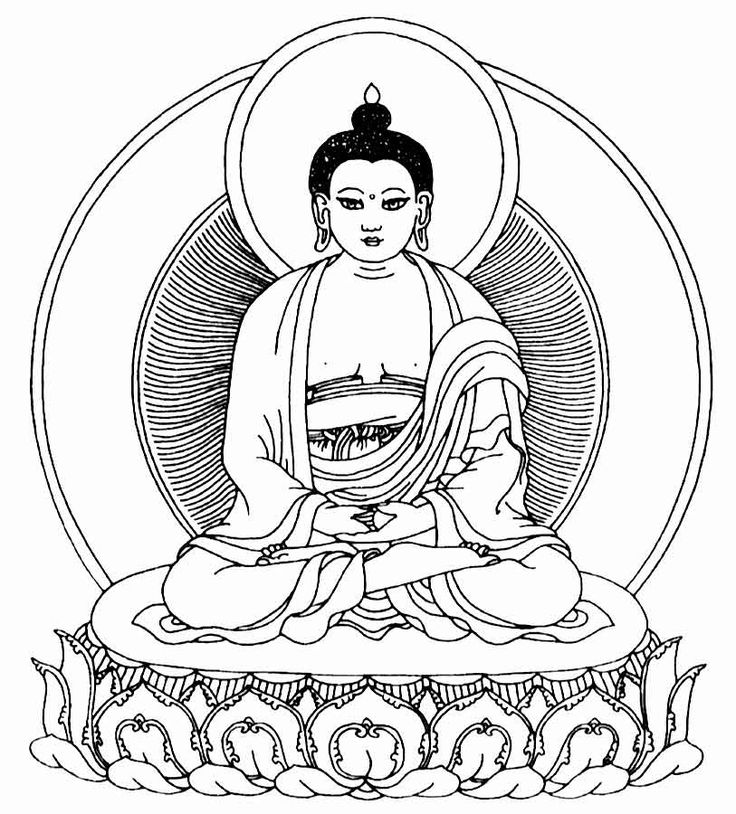 Zen Buddhist Symbols And Meanings: Zen Buddhism Clipart