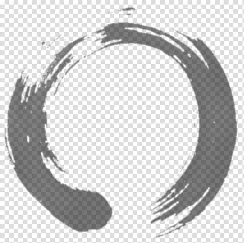 Ensō Zen Buddhism Circle Symbol, Buddhism transparent.