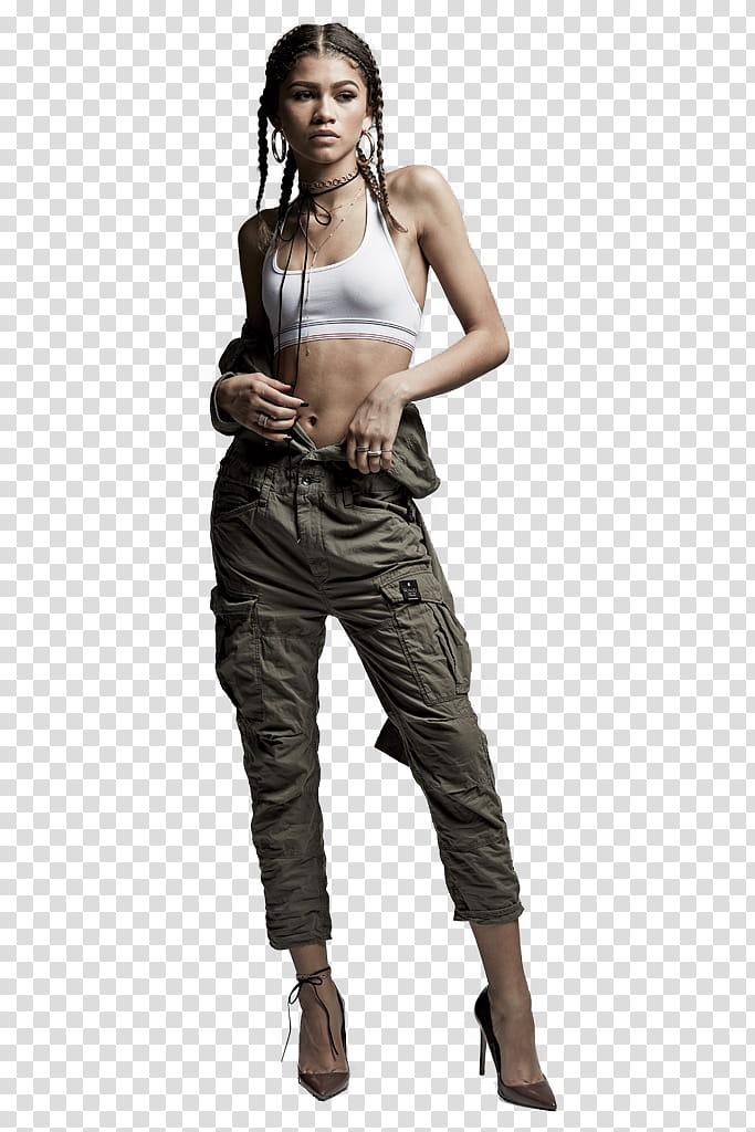 Zendaya Coleman transparent background PNG clipart.