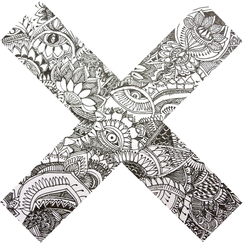 Zentangle PNG Image Background.
