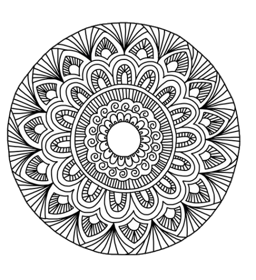 Zentangle PNG Transparent Images, Pictures, Photos.