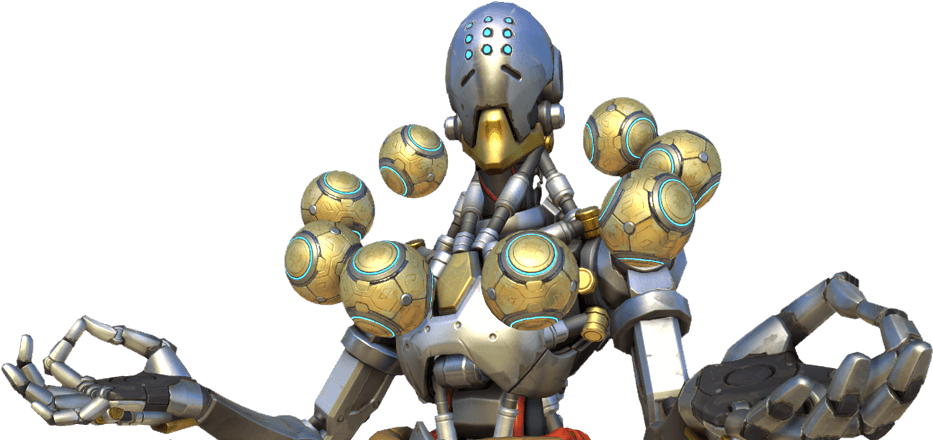 HD Zenyatta Overwatch Png , Free Unlimited Download #370740.