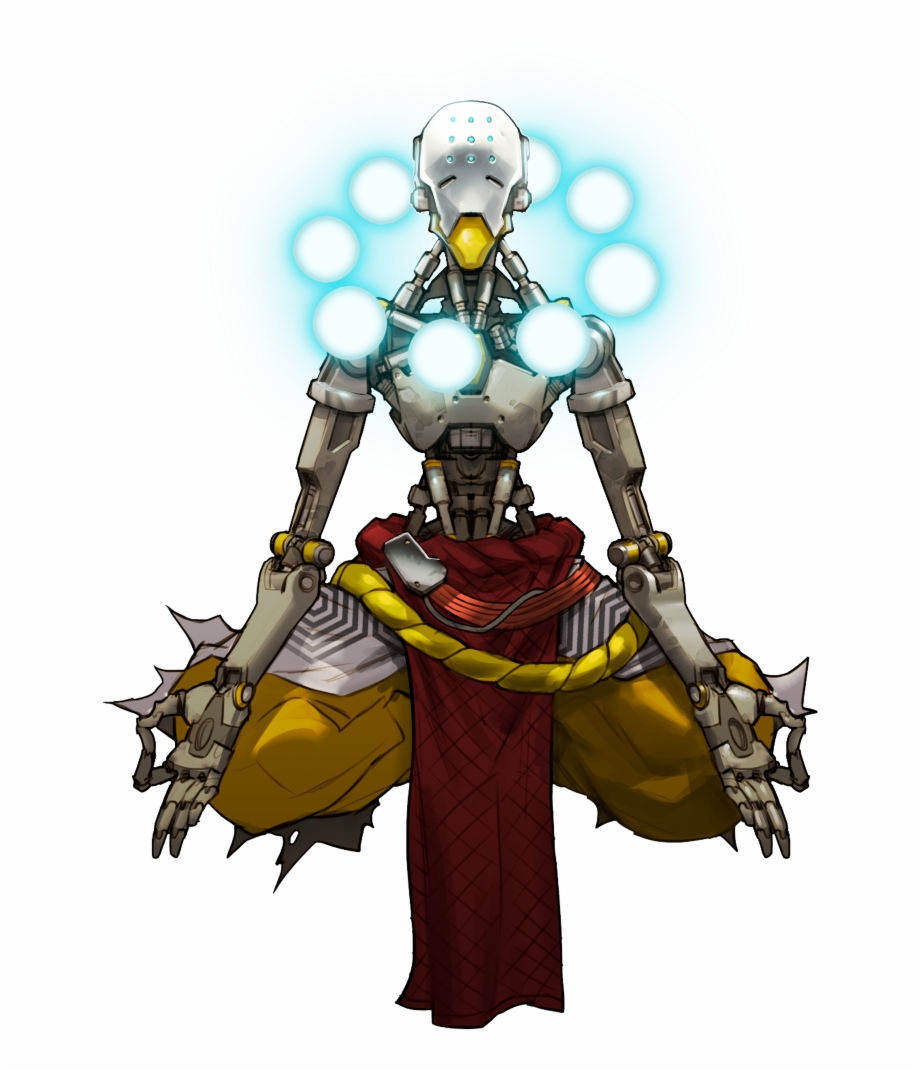 Zenyatta Overwatch Concept Art, Transparent Png Download For Free.