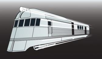 Grey Colored Steam Train With Smoke Free Vectors.