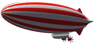 Zeppelin PNG Image with Transparent Background.