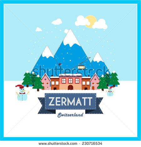 Zermatt Stock Photos, Royalty.