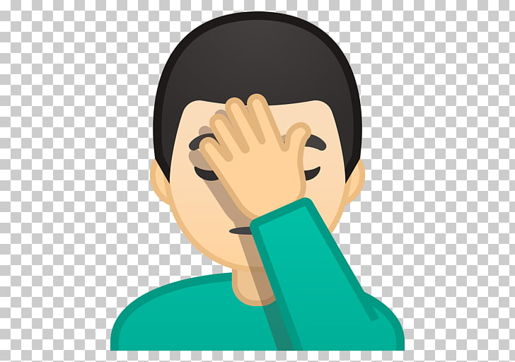 Emojipedia Facepalm Gesture Zero.