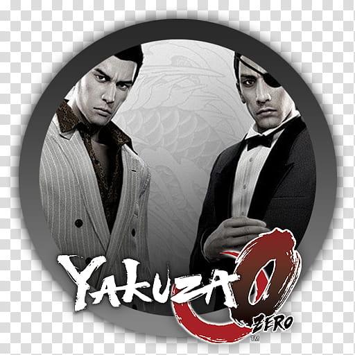 Yakuza Zero Icon transparent background PNG clipart.