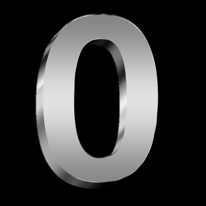 0 Number PNG Transparent Images.