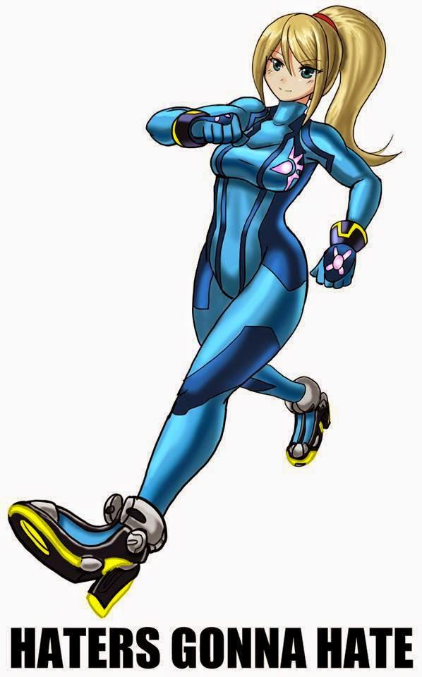 Zero Suit Samus Clipart.