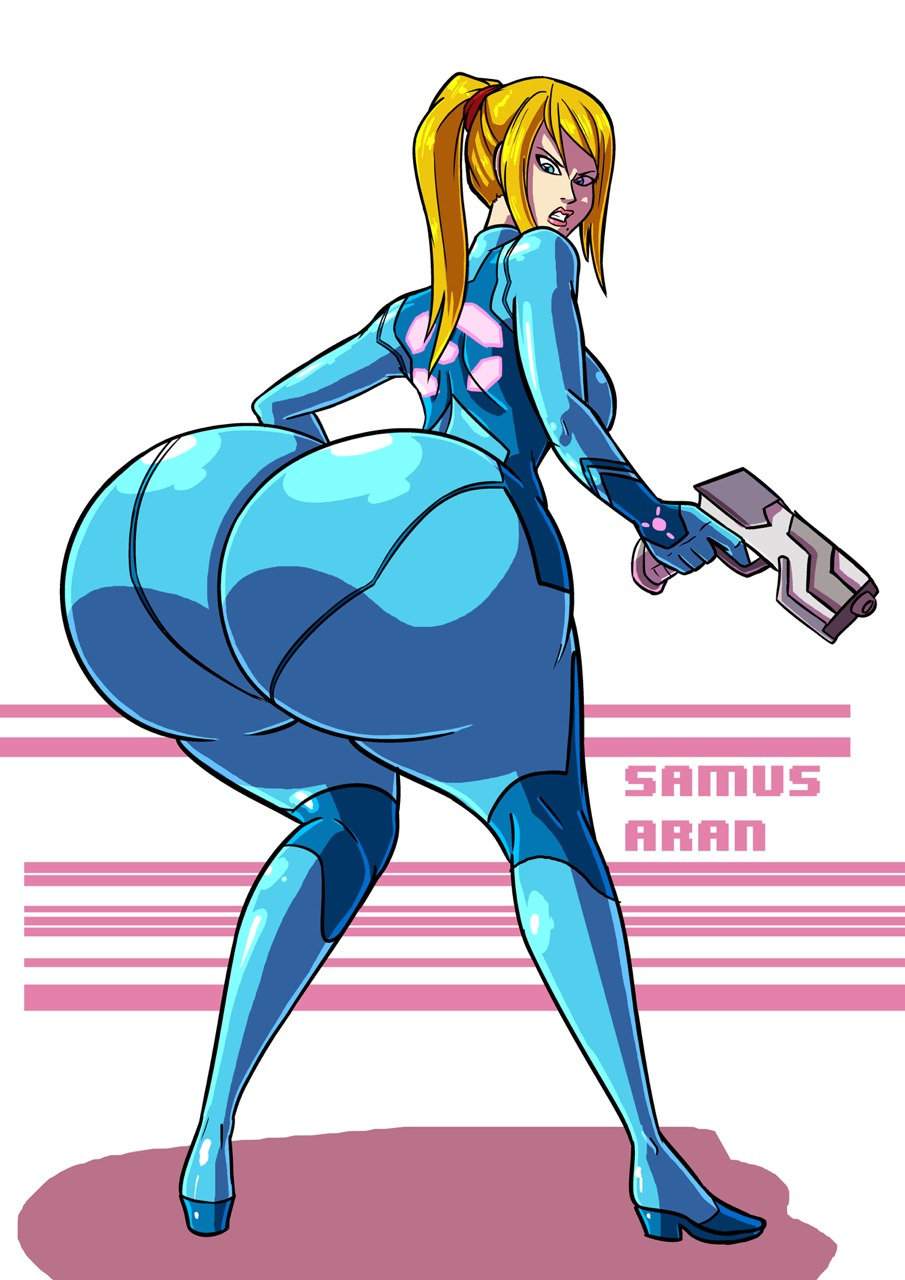 zero suit samus clipart #5