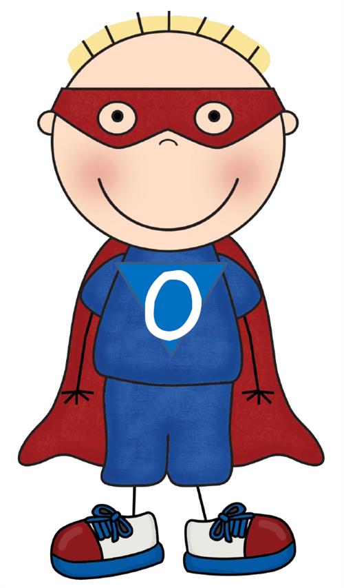 Zero The Hero Clipart.