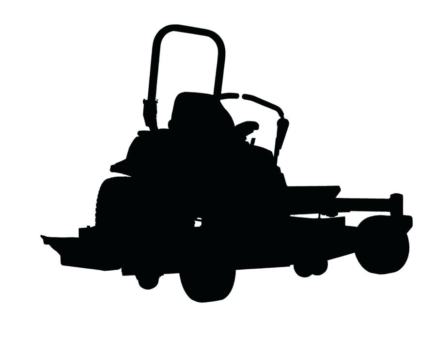 White Zero Turn Mowers Mower Lawn Riding Clip Art Outdoor For Sale.