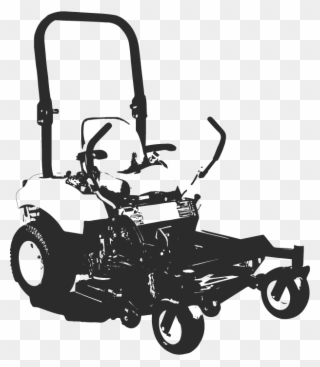 Download Free png No Color Zero Turn Mower Clipart.