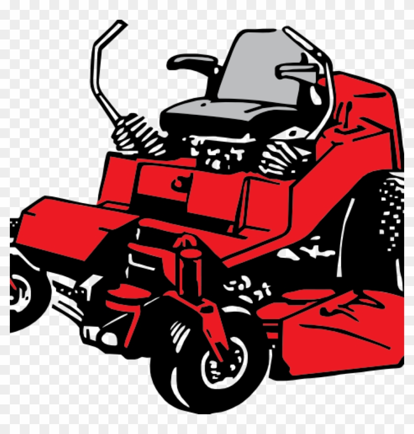 Lawn Mower Clipart Free Hand Clipart Hatenylo.