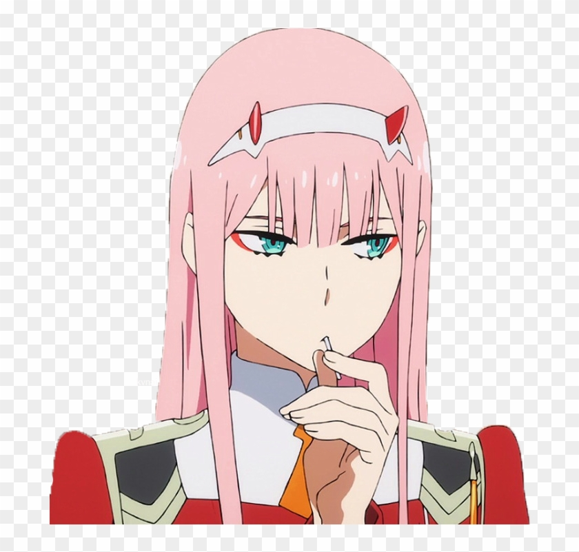 transparent Zero Two / Darling In The Franxx ゼロツー.