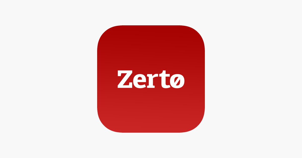 Zerto Mobile on the App Store.