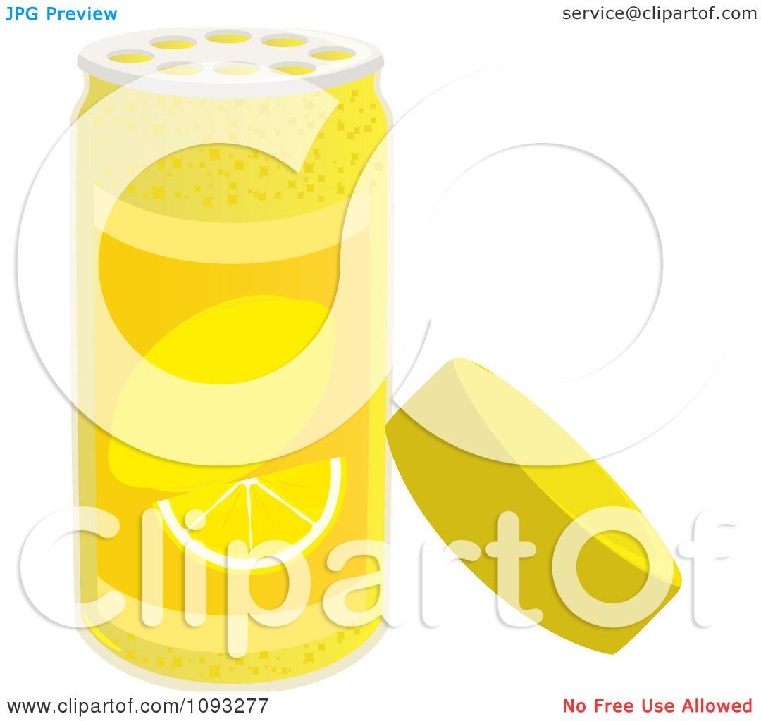 Clipart Open Spice Bottle Of Lemon Zest Flavoring.