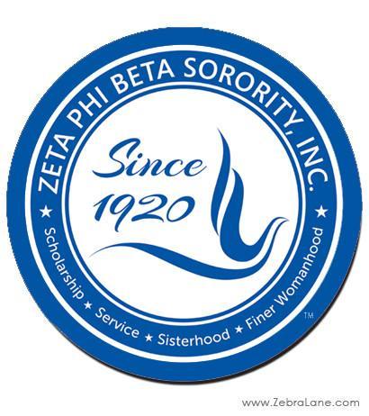 Zeta phi beta Logos.