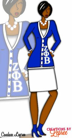 30 Best Zeta Phi Beta Sorority, Inc. images in 2019.