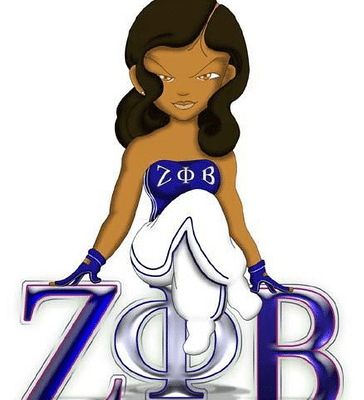 Zeta Phi Beta Are Sisters to Phi Beta Sigma Fraternity; Interesting.