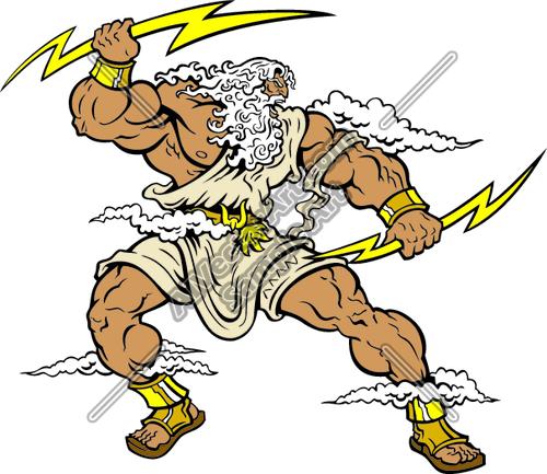 Zeus clipart #12