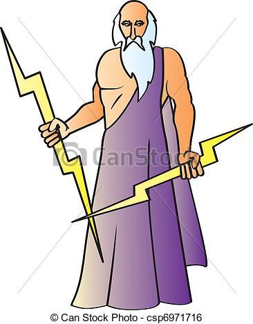 Zeus clipart #15