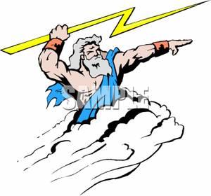 Zeus clipart #5