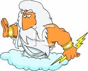 Zeus clipart #13