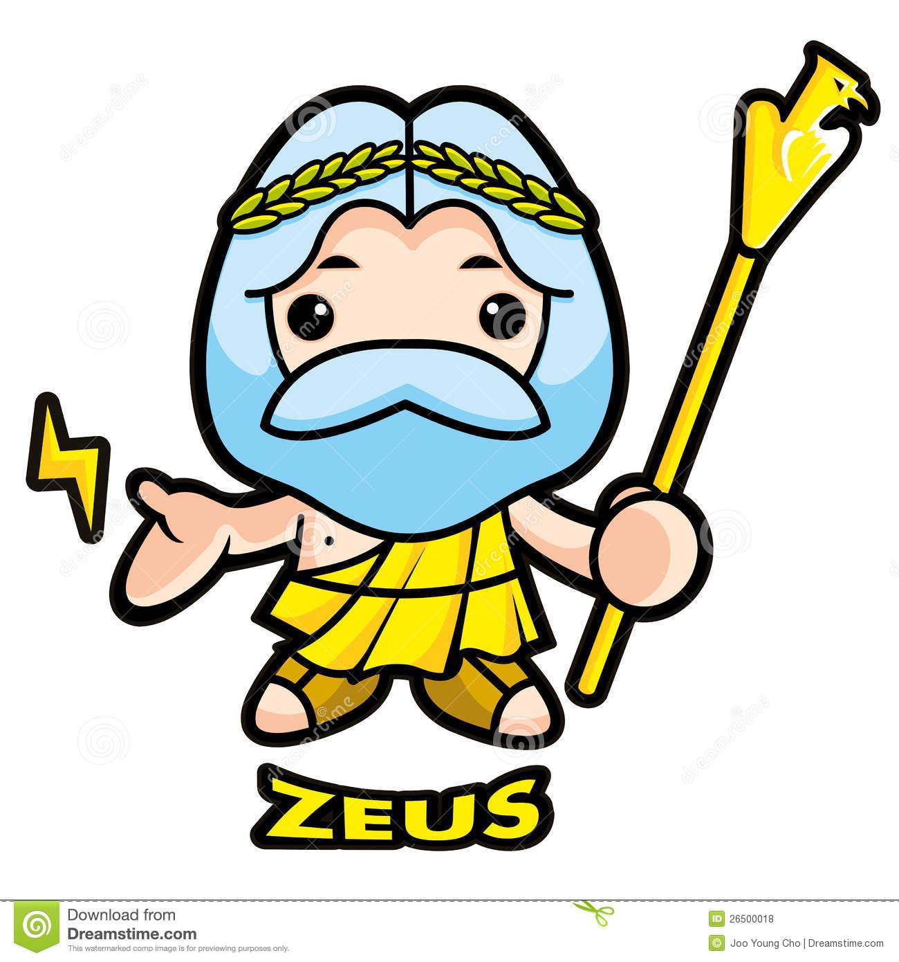 Zeus clipart #2