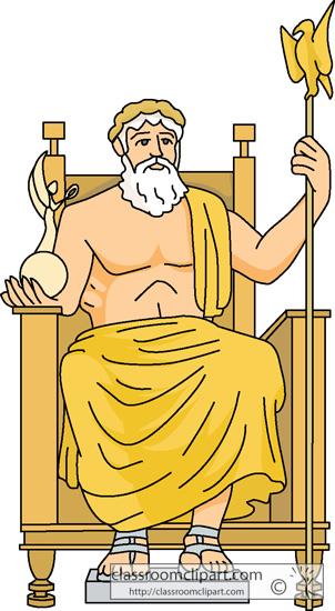 Zeus clipart #20