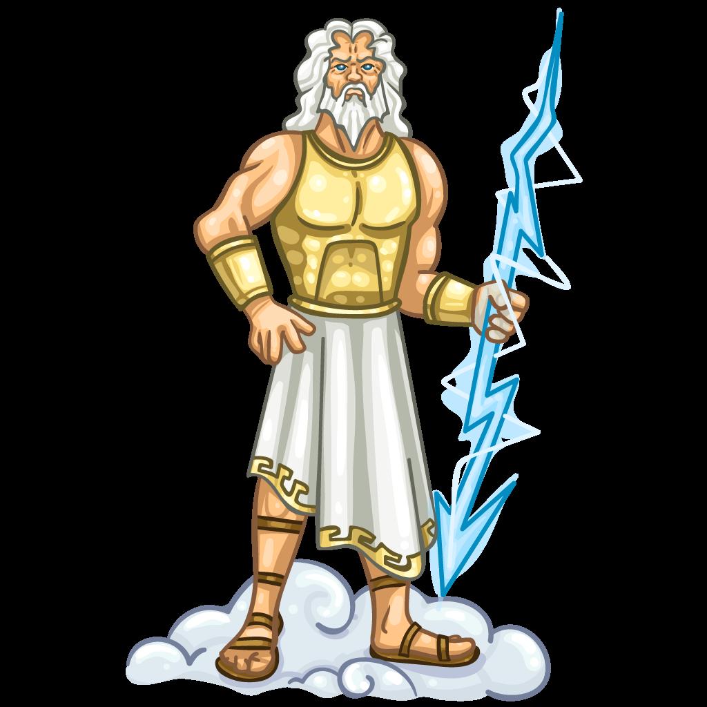 Zeus clipart #4